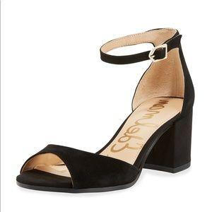 Sam Edelman black Susie heels